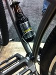 Also from Ft Collins, Black Sheep offers a 36er with beer bottle cage.
