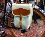 The Laplander pannier was so striking, I almost forgot to see who made the gorgeous wheel, Bilenky