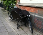 But my favorites were the cargo bikes for carrying the kinderen.