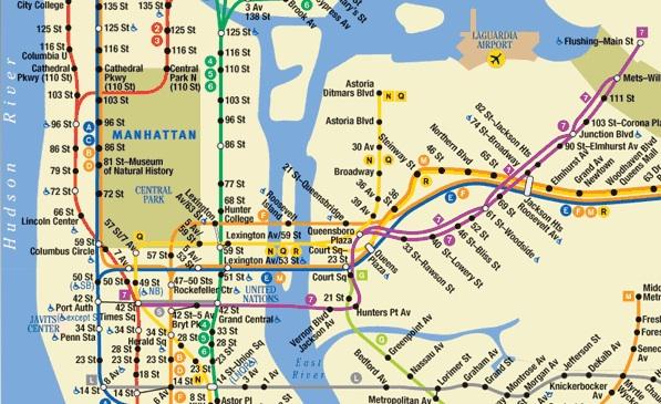 Subway Map 77 Street.New York City Subway Vs Bike One Woman Many Bicycles