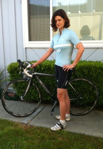 Ready to Ramble: Despite its understated style, my Rapha super lightweight wool jersey offers serious performance, just like Black Beauty.