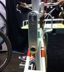 Rock Lobster showcased their Faraday bike, a classy electric bike without the clunky styling of most e-bikes.
