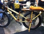 I've seen many bamboo bikes before, but none with a bamboo kickstand.