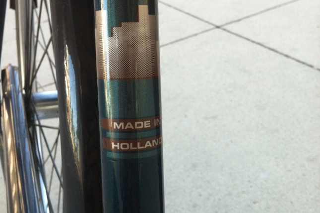 Made in Holland, not Taiwan.  A reliable source says it was made in 1997.