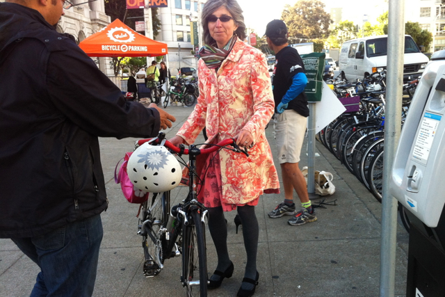 How could I resist an opportunity to network with like-minded folks at a bicycle benefit?