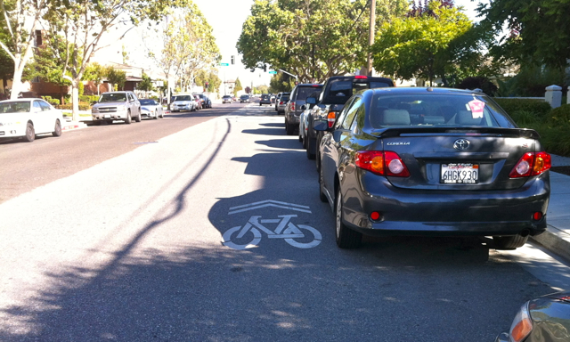Door Zone Sharrows