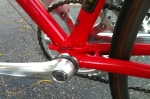 Look, the cable guide is above the bottom bracket, not below.