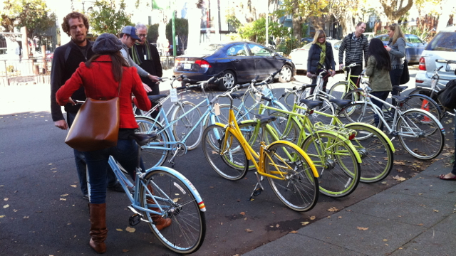 After all, there are so many bikes to choose from in so many pretty colors.