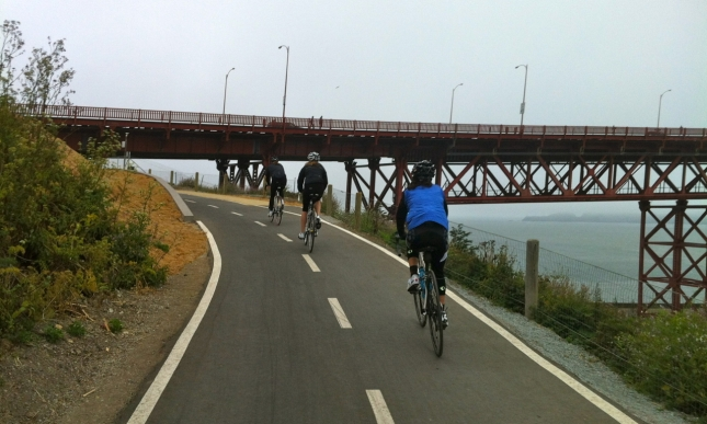 The improvements on the Golden Gate Promenade were really well done.