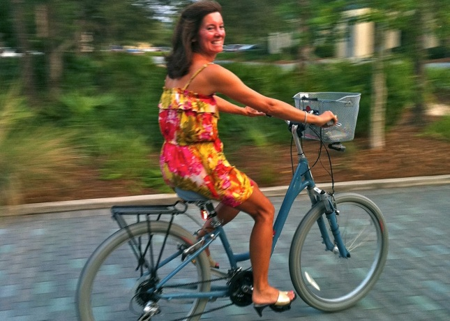 Cycle Chic could set up a site for my sister's resort town in Florida.