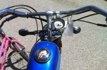 The Whizzer has some surprising motorcycle features, like an odometer.