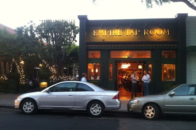 The Empire Tap Room was the rare place in Palo Alto that hasn't been part of a Bike Date Friday.