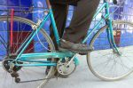 He rescued this abandoned 1981 Schwinn World Tourist from certain death during a company move.