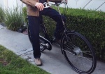 With a full chaincase on his WorkCycles Secret Service bike, Dick doesn't need tiebacks for his jeans.