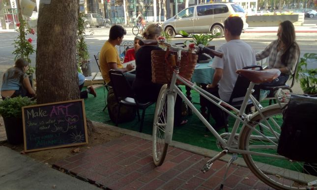 Greenbelt Alliance coordinated the (PARK)ing Day activities in San Jose this year.