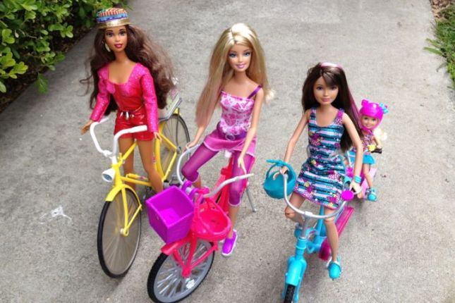 These girls are ready to ride!