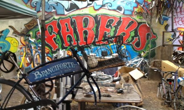 Faber's owner Alex cut his teeth running the Branciforte Bike Shop in Santa Cruz as a teen.