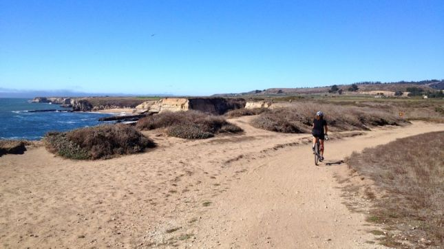As we rode north, the wind picked up.