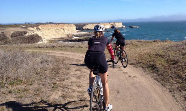 The headwind became a tailwind that shot us back to the trailhead.