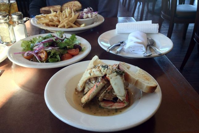 Thanksgiving is the traditional start of Dungeness Crab season.