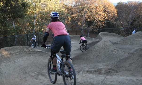 To say that I was nervous venturing into the BMX park would be an understatement.