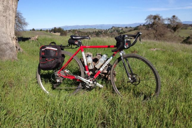 Arastradero View with Bike