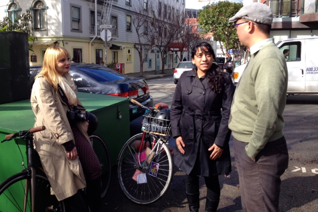 At South Park, I met the Melissas behind two well-read San Francisco-based blogs.