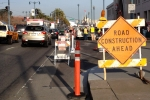 I don't mind bike lane closures so much when workers are on the job.