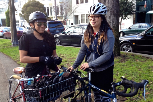I also met Mary Kay who runs a bike repair non-profit  and organizes for San Francisco Bike Party.