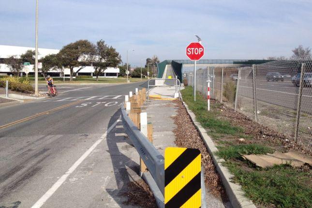 Moffett Park Bike Bridge FAIL 2