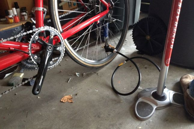 It needed more work than just pumping the tires, like attaching pedals for me.