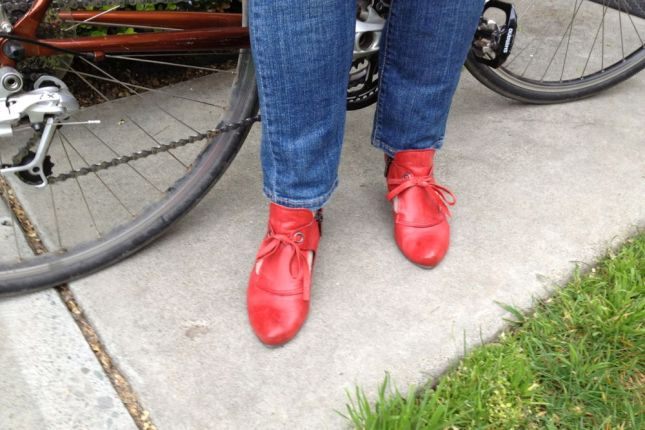 """I've loved red shoes ever since I was 5 years old but Momma said """"No."""""""