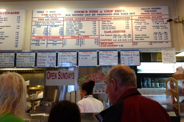 So many fish choices, what to choose?