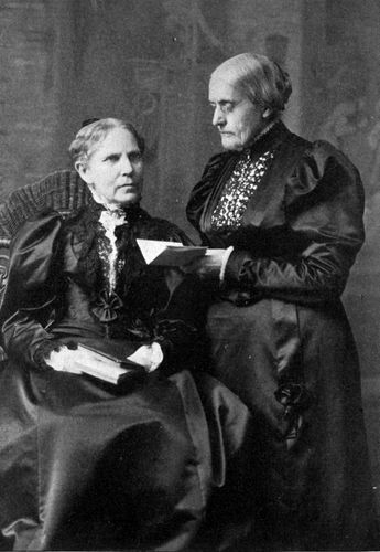 Susan B Anthony didn't vote alone in 1872. Over a dozen other women including her sister Mary joined her in demanding the right to vote that day.