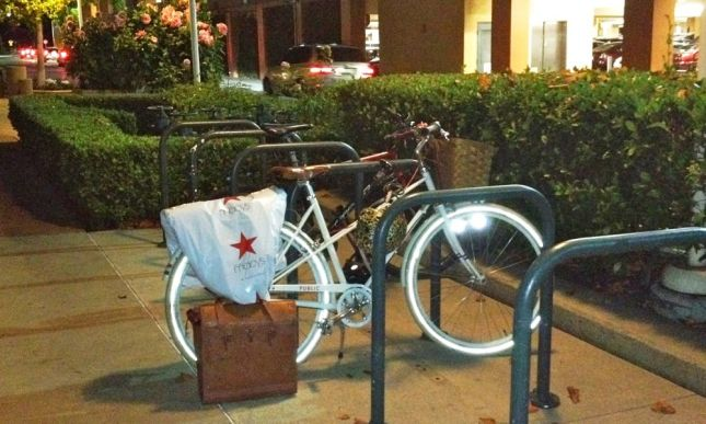With Caltrain I can go more places after work than by bike alone, like Stanford Shopping Center.