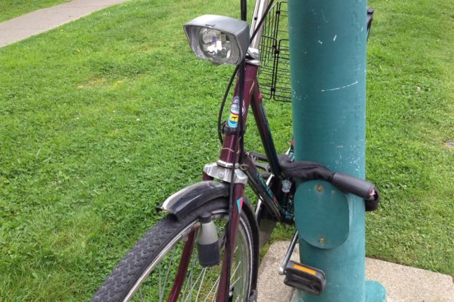 My old bike never had a light with tire-driven dynamo generator.