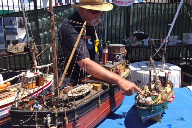 And finely crafted model boats that were just for show.