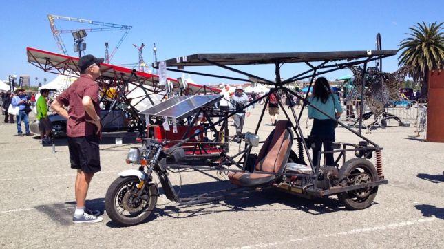 Solar Car Wide