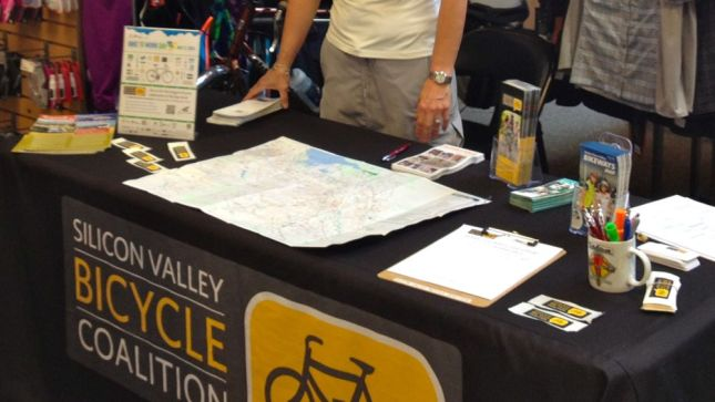 The county bike map was the real attraction.