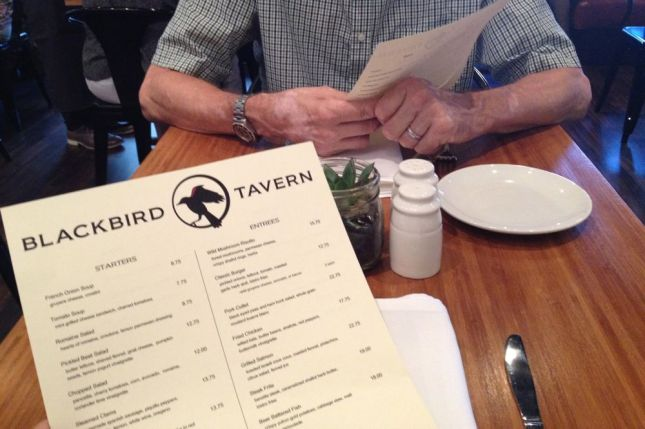 After I heard about the grand opening of Blackbird Tavern on Twitter we had to go
