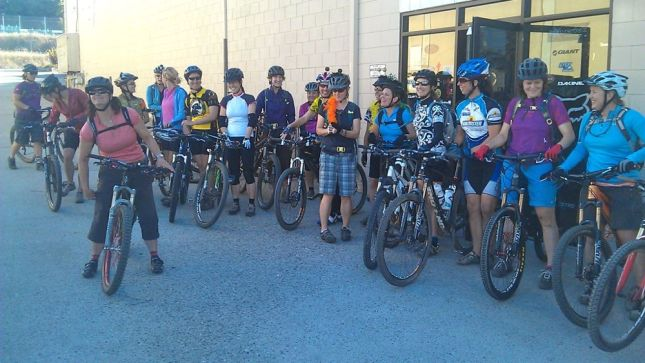 How do you attract dozens of women to mountain biking (and to your shop)?