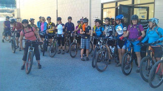 How do you attract dozens of women to mountain biking (and to your shop)?