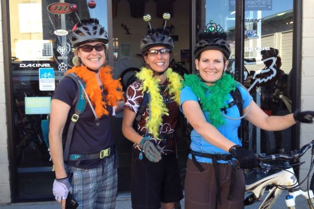 Start by recruiting friendly, fun and experienced ride leaders.