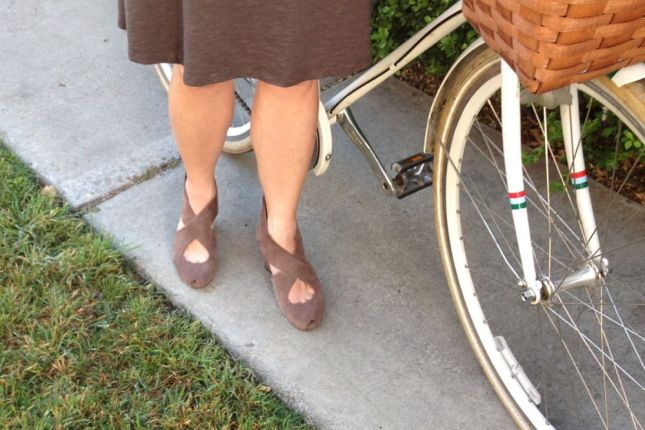 A supportive footbed makes these my go-to heels when my feet are tired.