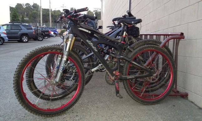 So many women, so many mountain bikes.