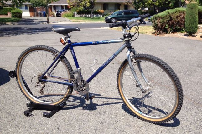 Katie loved her old Trek 850 too much to sell it, but it wasn't getting much use anymore.