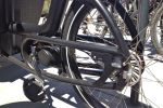 Oops. This isn't a chain guard. I took photo of wrong side of the bike so no idea whether it's chain or belt driven.