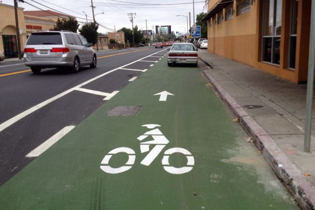 Of course, not all drivers respect the purpose of the new bike lanes.