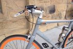 Check out the Trek logo on the bar ends and the orange bolts on the stem. Product manager gone wild!