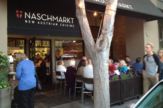 "We like ""New American"" cuisine so we thought we should try ""New Austrian"" at Naschmarkt."